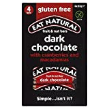 Eat Natural Gluten Free Bars Cranberries, Macadamias and Dark Chocolate (4x33g) - Pack of 6