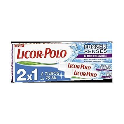 Pasta de dientes frozen blanco irresistible licor del polo 2x75ml ...