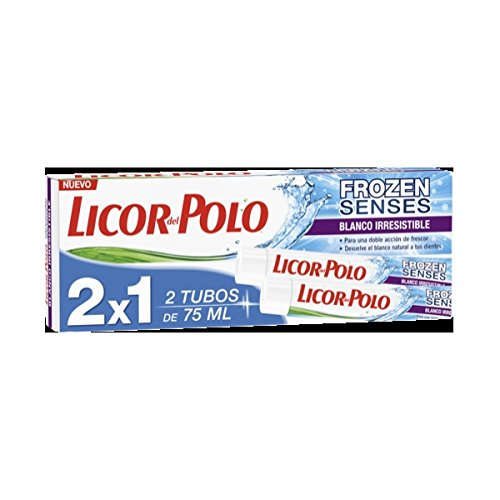 Pasta de dientes frozen blanco irresistible licor del polo 2x75ml ...