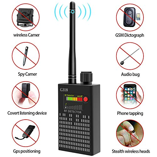 "(Dooreemee Super Anti-spy Bug GPS Camera RF Signal Detector Set [Advanced Version],GPS Tracker Wireless Camera Amplification Ultra-high Sensitivity GSM Device Finder(2"" X 0.8"" X 3.3"", 4.1oz, Handheld))"