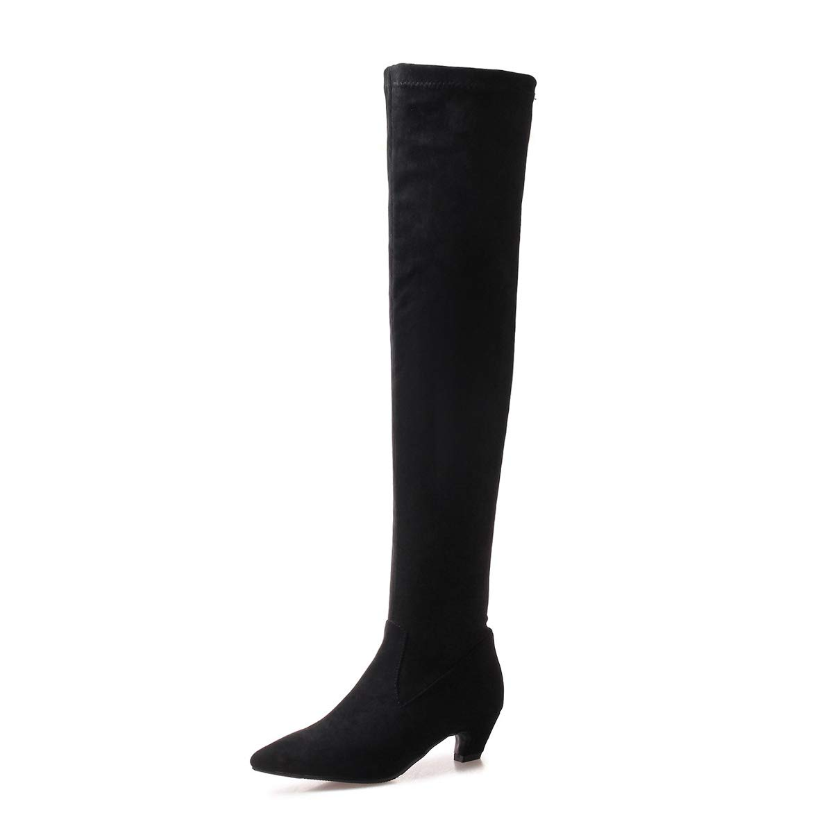 DANDANJIE Damen Herbst Overknee Stiefel Herbst Damen Winter Langlaufritter Stiefel für Damen Daily Night Party Club ef0ee5