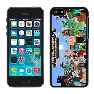 Minecraft(5) Black iPhone 5C Phone GMNBVZX Case Genuine Custom Cover