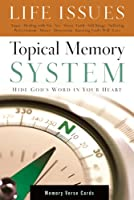 Topical Memory System Life Issues Mermory Verse Cards
