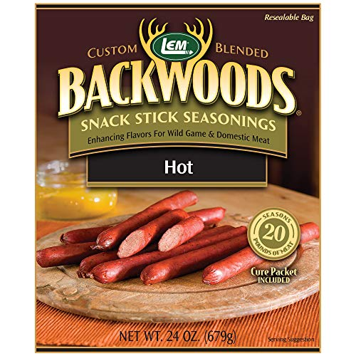 LEM Backwoods Hot Stick Seasoning with Cure ()