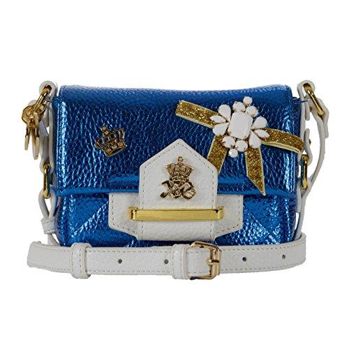 Xavem Bags Umhängetasche, blau/weiß (Blau) - 29567