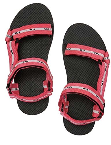 Victoria's Secret PINK Velcro Strap Sport Slides sandals