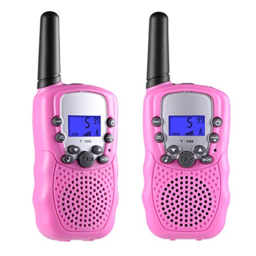 Image of the Toys for 3-12 Year Old Boys, Teen Girl Gifts, Selieve Walkie Talkies for Kids Teen Boy Gifts Birthday (Pink, 1 Pair)