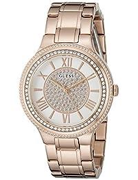 GUESS Women's U0637L3 Classsic Rose Gold-Tone Watch