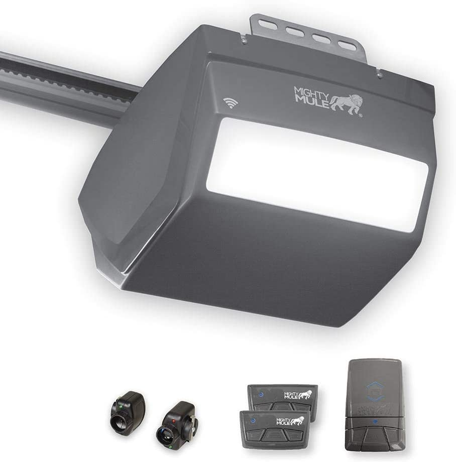 Mighty Mule MM9434K 9000 Series Garage Door Opener, 1 HPe, Black