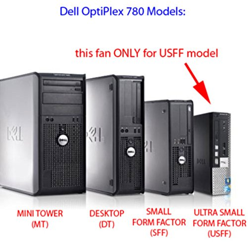 Amazon.com: K650t Dell Optiplex 780 Usff Case Cooling Fan ...