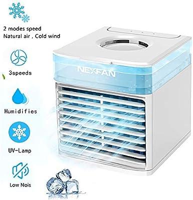 NeXFAN - Nefpan portátil con ventilador de escritorio USB con 3 ...