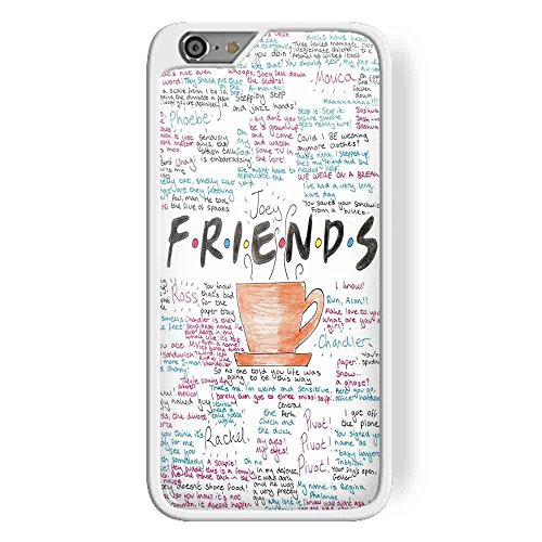 Friends Tv Show Posters for iPhone 6 Plus/6s Plus White case
