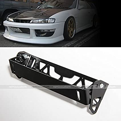 Universal JDM Aluminum Adjustable tilt License Plate Frame Bracket & Amazon.com: Universal JDM Aluminum Adjustable tilt License Plate ...