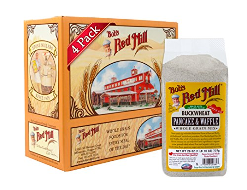 Price comparison product image Bob's Red Mill Buckwheat Pancake & Waffle Mix,  26 Ounce (Pack of 4)