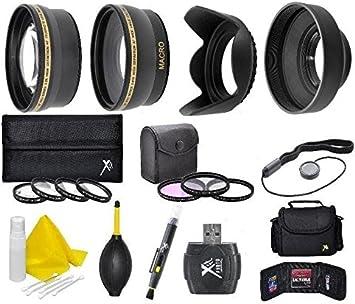58mm lens Filter Accessory Kit For Olympus E-620 E-600 E-520 E-510 E-500 E-450 E-420 E-410 E-400 E-330 E-300 E-5
