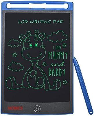 SCRIMEMO Tableta de Escritura LCD, Tablero de Dibujo Gráfico Electrónico Pizarra Magica LCD Juguetes Educativo para Niños Oficina de la Escuela en el ...