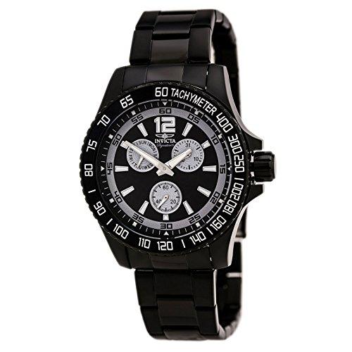 Invicta 7012 Men's Signature II Black Dial Black IP Steel...