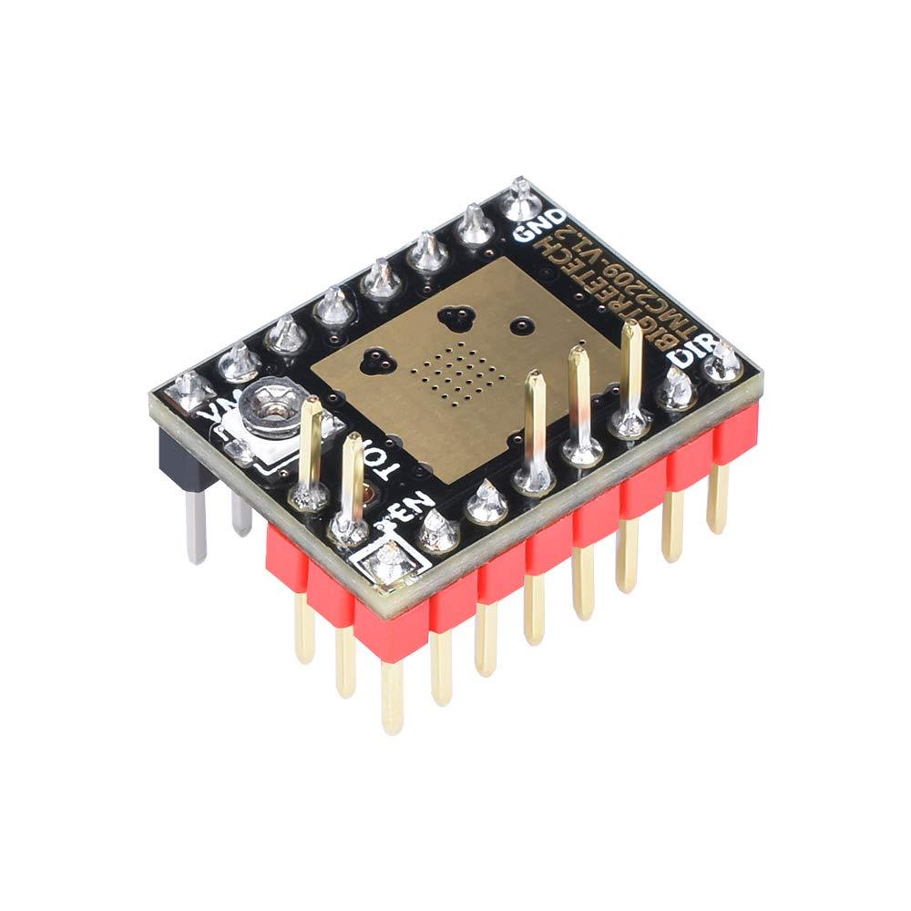 Amazon.com: BIGTREETECH TMC2209 V1.2 Controlador de motor ...