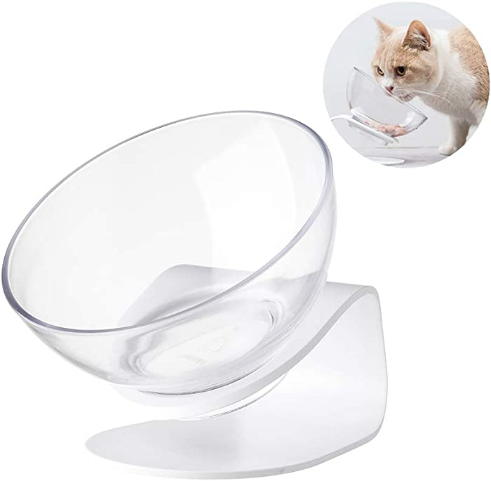 pidan Pet Food Bowls with Stand Cat Bowls Pet Water Bowl for Cat Raised Elevated Perfect Adjustable Height