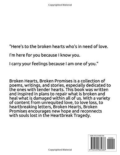 Broken Hearts Broken Promises Kwesi Miles 9781549881688 Amazon