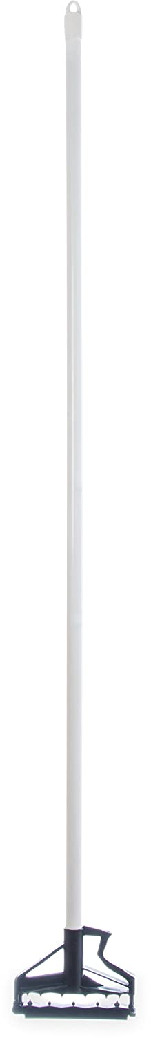 Carlisle 4166414 Commercial Side-Gate Fiberglass Wet Mop Handle, 60