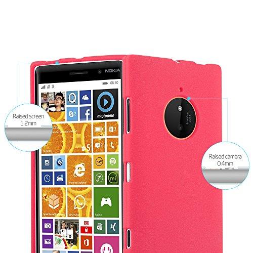 Cadorabo - Cubierta protectora para Nokia Lumia 830 de silicona TPU en diseño Escarcha