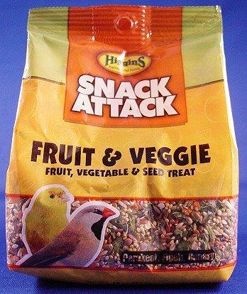 Higgins Sunburst Fruit & Veggie Small Hookbill, 20 lb