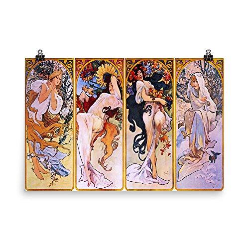 Vintage poster - Four Seasons 1315 - Enhanced Matte Paper Po