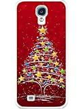 Galaxy S5 Case, Samsung Galaxy S5 Case Slim Fit Hard Back Cover for Galaxy S5 Red Christmas Tree
