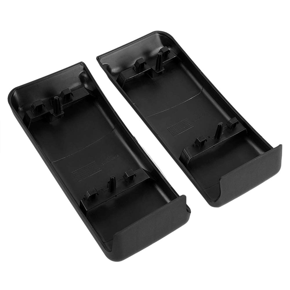 Yeeoy Front Bumper Guards Pads Inserts Caps Fits 2009-2014 Ford F150
