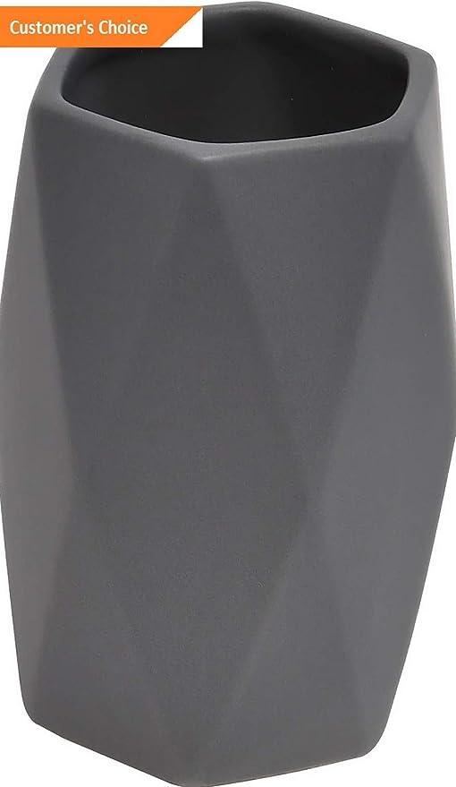 Amazon.com: Hebel Diamond Collection Bathroom Accessory Set 5-Pieces Grey | Model TTHBRSHHLDRS - 523 |: Home & Kitchen