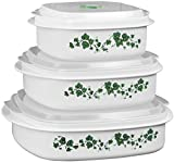 Corelle Coordinates by Reston Lloyd 6-Piece Microwave Cookware, Steamer and Storage Set, Callaway