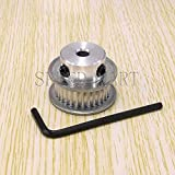 FidgetFidget 3M Timing Pulley 30T 6mm Bore for Stepper Motor 3D Printer 11mm Width HTD