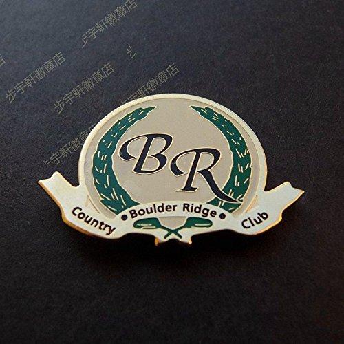 US Boulder, Colorado Ridge Country Club badge brooch girls born girl accessories 14