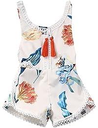 Newborn Baby Girls Ethnic Style Sleeveless Tassels...