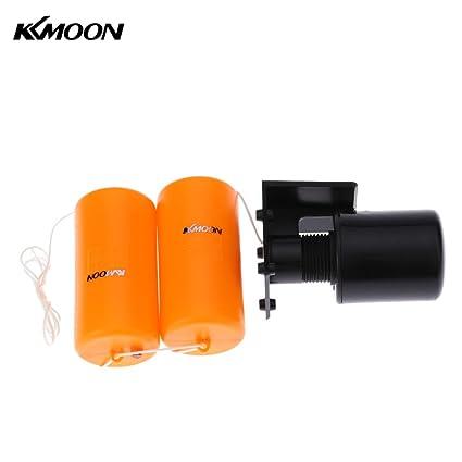 KKmoon 1.2 m doble Floater Automatic Float Switch Sensor de líquido de nivel de líquido