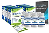 BluCetin 6 Month Supply Value Price Pack - (98%-Pure DHM, Milk Thistle, Electrolytes, Antioxidants, Nutrients) w/New 'Quick-Melt' Technology Fresh Mint Flavor-'On-the-Go' Detox Support.