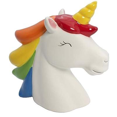 Streamline Rainbow Unicorn Money Bank: Toys & Games