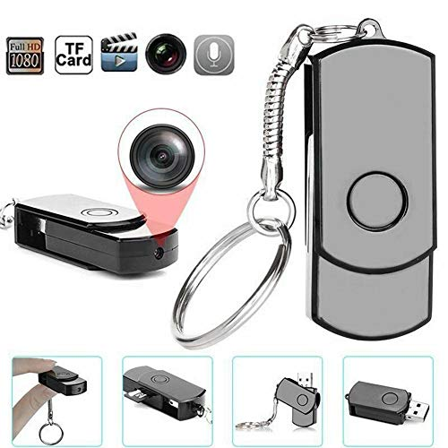 Small Portable Camera, USB Flash Drive Camera, U Disk HD Video Recorder High Definition Cam, with the Function of Take Pictures, Record Videos