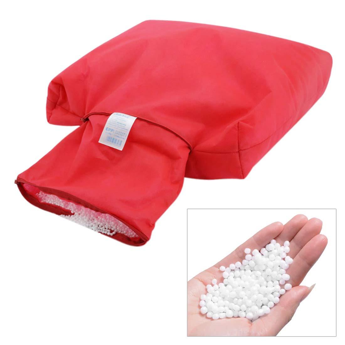 Enerhu Styrofoam Particles Bean Bag Filler Soft Bean Bags Refill (25L(250G), White)