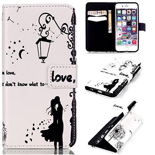 Iphone 6S Hülle, COWX PU leder Hülle für Iphone 6S 6 (4.7 zoll) Ledertasche Schutzhülle Case, Iphone 6 Hülle, iphone 6S 6 case,Tasche Standfunktion Brieftasche für Iphone 6S 6 Taschen Schalen