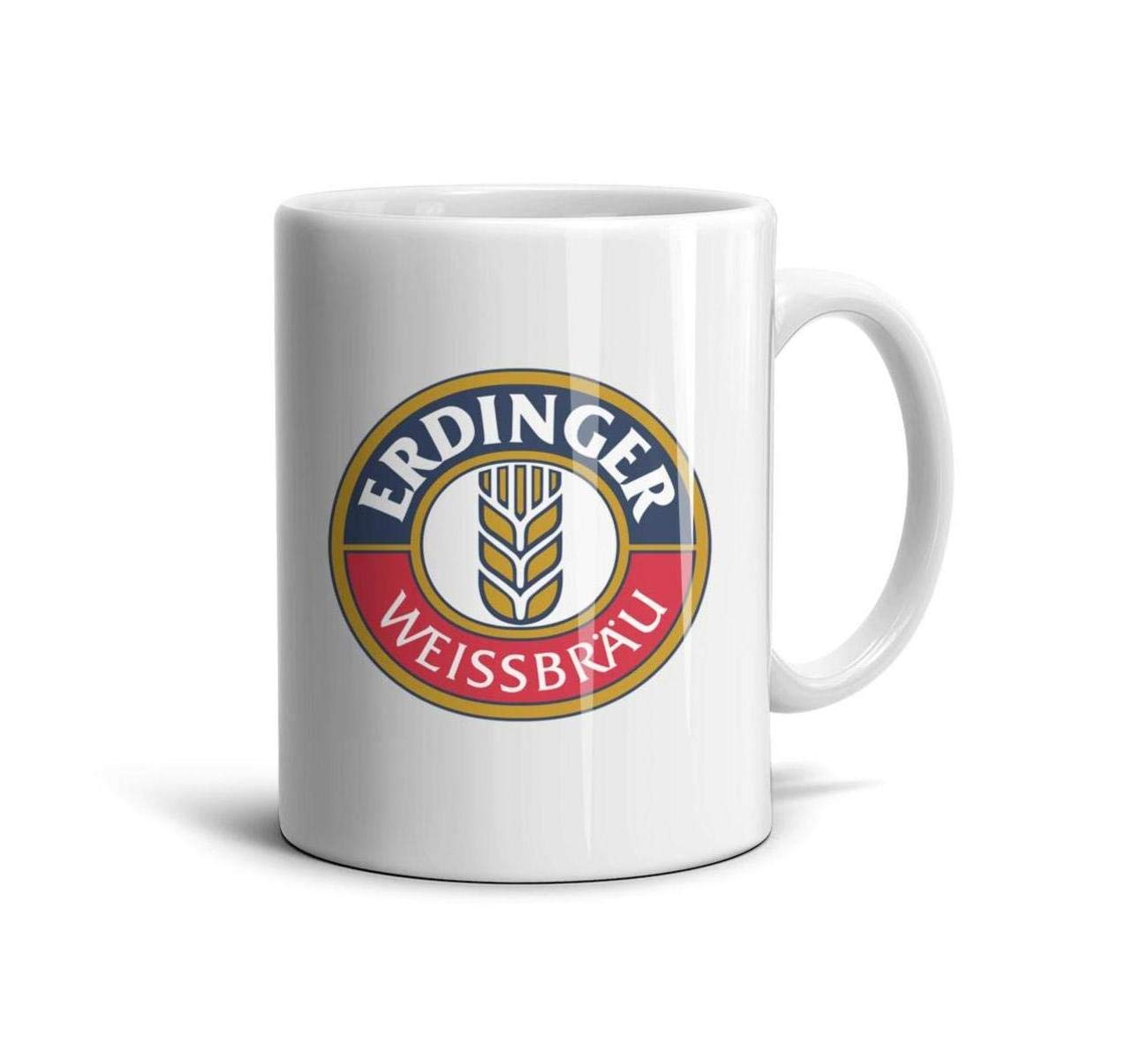 HIYITUTA Erdinger-Logo Mug Souvenir Unique Mug 11 Oz Holidays Mugs Friends Wife