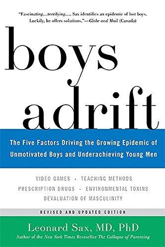 Boys Adrift by Leonard Sax (2016-07-14)