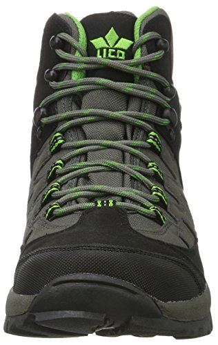 Homme Steppe Schwarz Chaussures Grau Lico Noir Hautes Gruen de Randonnée 4XRdnx0xqw
