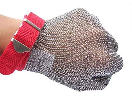 Guanto da macellaio in acciaio inox certificato EN1082 Ruvigrab 6506