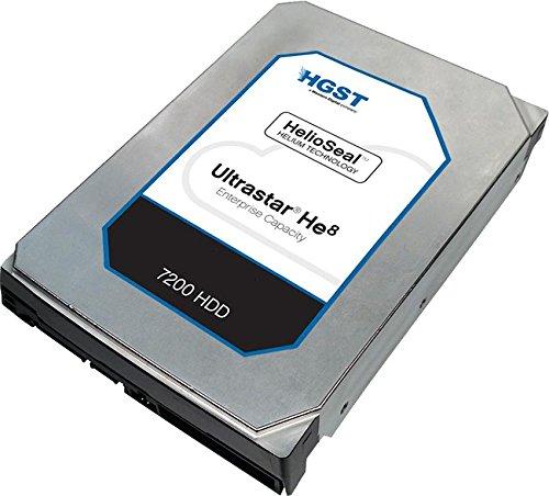 HGST Ultrastar He8 HUH728060ALE600 7200 HDD 6TB 3.5-Inch Helium Platform Enterprise Hard Drive