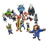 Zootropolis Figures Zootopia Characters 12 Piece Set
