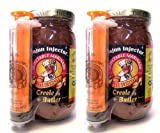 The Original Creole Butter Injectable Marinade: Mild (Pack of 2) 16 oz Jars