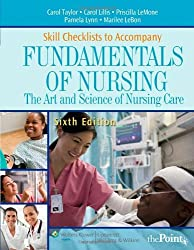 Skill Checklists to Accompany Fundamentals of Nursing: The Art and Science of Nursing Care (Point (Lippincott Williams & Wilkins))