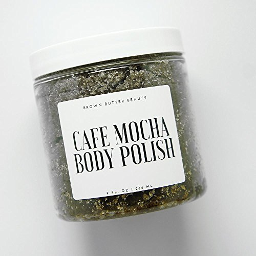 - Cafe Mocha Sugar Body Polish | Exfoliating Body Scrub | Coffee Scrub | Coffee Chocolate Scrub | Organic Coffee Scrub by Brown Butter Beauty